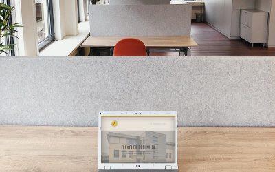 Flexplek Reeuwijk biedt oplossing voor een tijdelijke werkplek